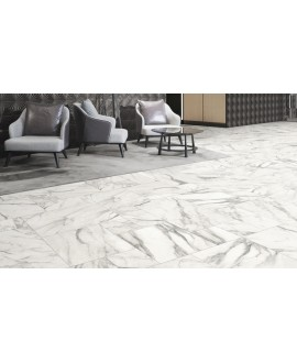 Carrelage opus marbre blanc mat multiformat ( 4 formats ), realmodular venato
