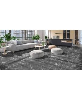Carrelage opus marbre noir mat multiformat ( 4 formats ), realmodular dark marble