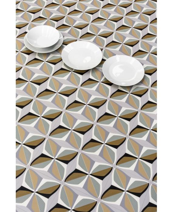 Carrelage décor imitation carreau ciment géométrique 20x20cm rectifié, santafun winter1, R10