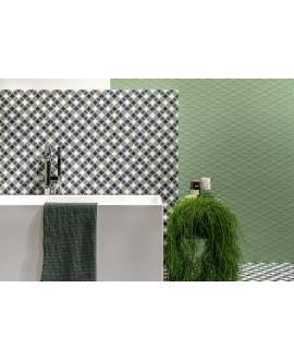 Carrelage décor imitation carreau ciment design 20x20cm rectifié, santafun joy1, R10