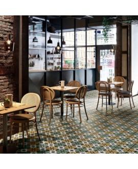 Carrelage décor imitation carreau ciment contemporain 20x20cm rectifié, santafun automne2, R10