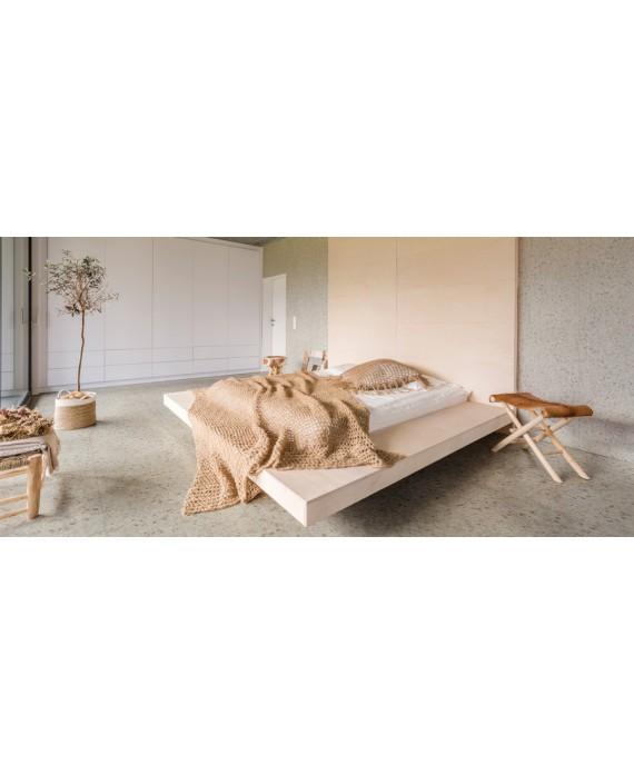 carrelage effet terrazzo et granito mat 60x60 cm rectifié, marmette beige