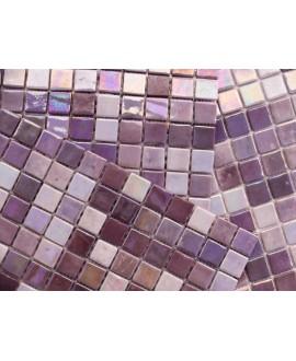 emaux de verre piscine mosaique salle de bain acquaris bali 2.5x2.5 cm