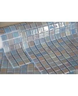 emaux de verre piscine mosaique salle de bain acquaris edel 2.5x2.5 cm