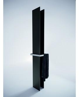 Sèche-serviette radiateur électrique noir mat 170x14.1cm anttower