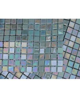 emaux de verre piscine mosaique salle de bain lotto 2.5x2.5 cm