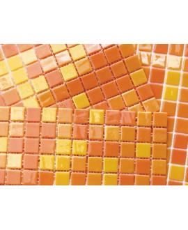 emaux de verre acquaris oran 2.5x2.5 cm