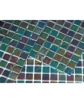 emaux de verre piscine mosaique salle de bain acquaris sahe 2.5x2.5 cm