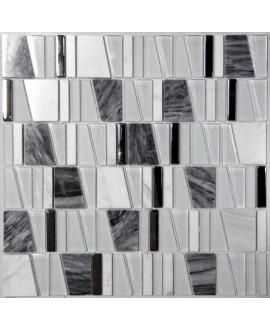 mosaique asi  gris 30x31.5 cm