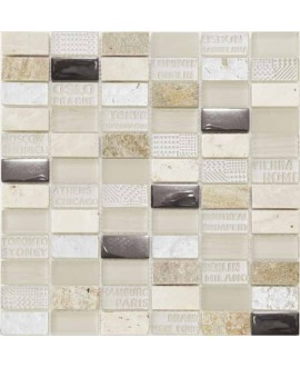 mosaique city beige 30x30.3 cm