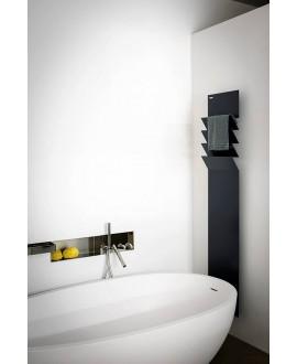 Sèche-serviette radiateur électrique design salle de bain AntflapsA 171x35cm de couleur