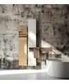 Sèche-serviette radiateur électrique contemporain design salle de bain AntflapsA 171x35cm de couleur