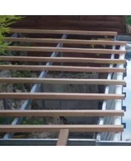 lambourde bois exotique 32x45 mm
