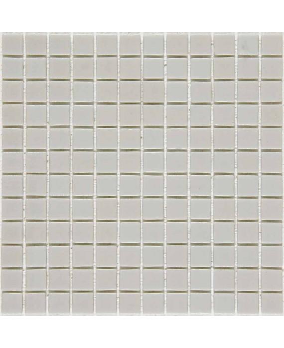 Emaux de verre gris clair salle de bain crédence cuisine mosaique piscine mosmc-402 2.5x2.5cm sur trame.