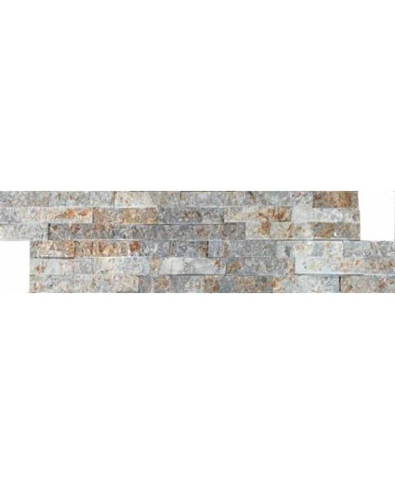 parement en pierre MO fachaleta quartz aneto 15x55x2cm