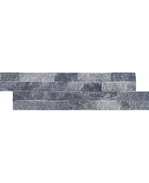 parement en pierre MO fachaleta quartz gris celta 15x55x2cm