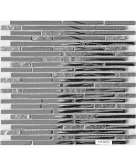 mosaique molluvia inox 30x30 cm