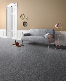 Carrelage imitation tissu, tapis, salon, bleu foncé, rectifié, santadigitalart denim.