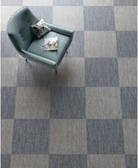 Carrelage imitation tissu, tapis, gris, rectifié, santadigitalart gris.