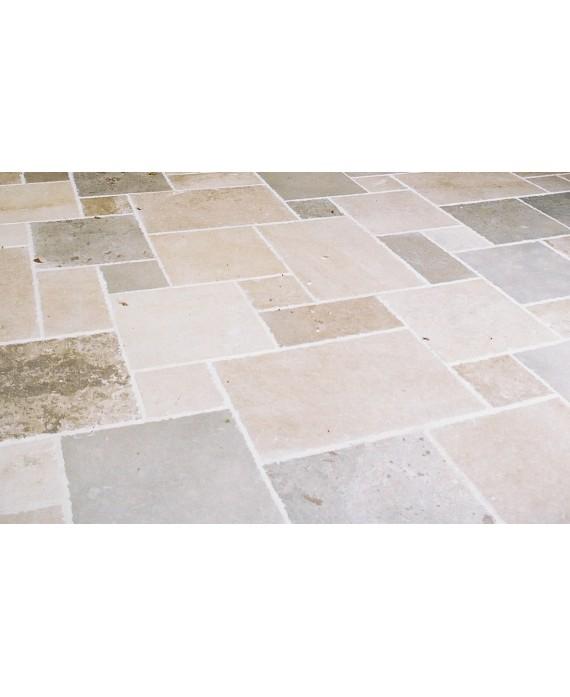 pierre du limeyrat opus toutes teintes avec gris finition vieilli chants taillés