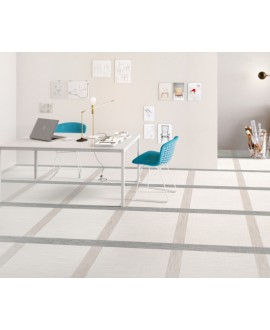 Carrelage imitation tissu, tapis, blanc, bureau, rectifié, santadigitalart blanc.