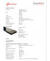 Parquet vinyl , largeur 176 mm, longueur 1213mm épaisseur 4mm, lagaronne barista