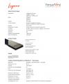 Parquet vinyl , imitation parquet scié, largeur 176 mm, longueur 1213mm épaisseur 4mm, lalugano muskat