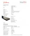 Parquet vinyl , imitation parquet sans noeud moderne, largeur 176 mm, longueur 1213mm épaisseur 4mm, lavictoria silver