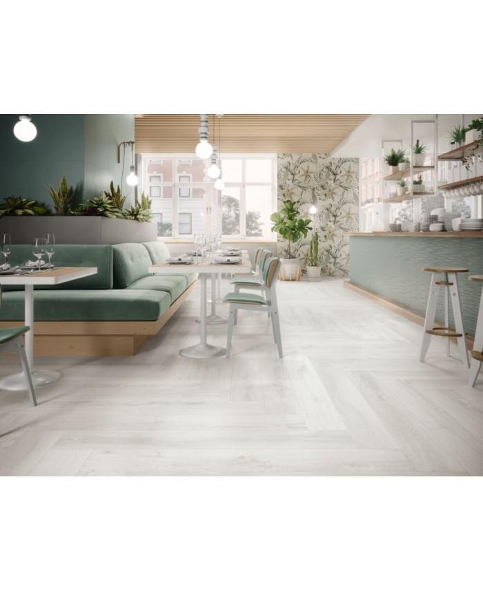 Carrelage Imitation Parquet Blanc Antiderapant 21x147 5cm Rectifie Porce6935 Balmoral Nordica R11 A B