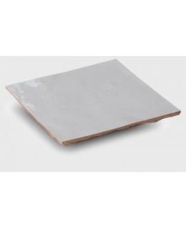 carrelage en terre cuite zellige neige 10x10x1.1cm