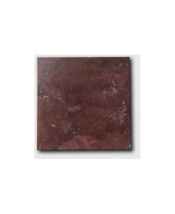 Zellige credence cuisine salle de bain carrelage en terre cuite D marron 10x10x1.1cm