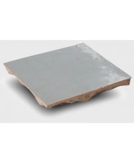 Zellige crédence cuisine salle de bain carrelage en terre cuite D gris clair 10x10x1.1cm