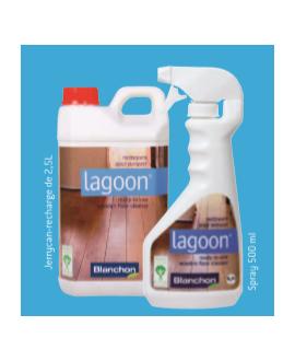 Nettoyant parquet lagoon spray 0.5L blanchon