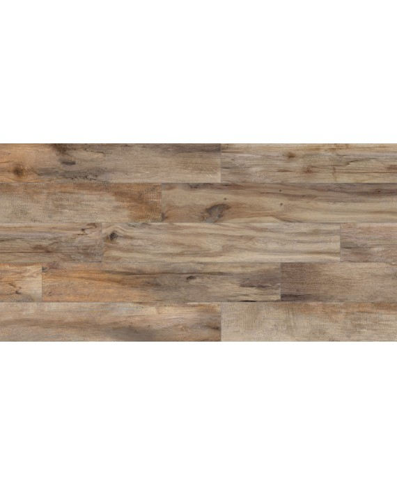 Carrelage imitation parquet marron ancien, 20x120cm, savintage marron