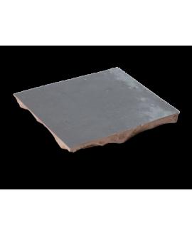 carrelage en terre cuite zellige souris 10x10x1,1x1.1cm