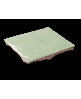 carrelage en terre cuite zellige vertpale 10x10x1.1cm