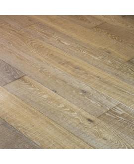 parquet  massif en chêne scié poussière d'argile, largeur 190 mm