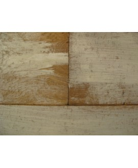 Parquet massif design contemporain en chêne loft blanc, très grande largeur épaisseur: 21mm, largeur 190 mm