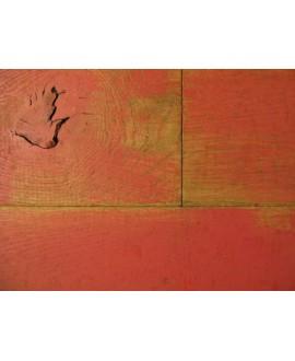 parquet  massif en chêne loft rouge , largeur 190 mm