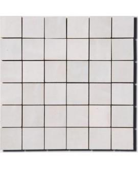 Mosaique zellige salle de bain cuisine D 5x5cm nuage sur trame 30x30cm