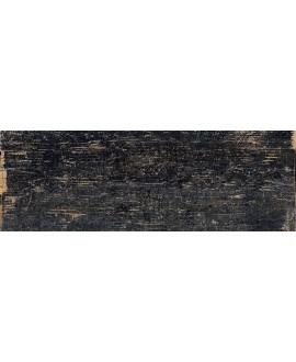 Carrelage terrasse antidérapant de forte épaisseur imitation parquet 40x120x2cm rectifié, R11 A+B+C, santablend noir
