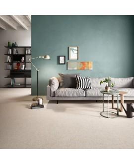 Carrelage pièce à vivre imitation tissu, tapis, sand, rectifié, santafineart.