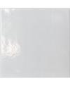 Carrelage peint à la main émail craquelé blanc cassé 10x10x1cm D