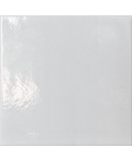 carrelage craquelé blanc cassé 10x10cm peint à la main