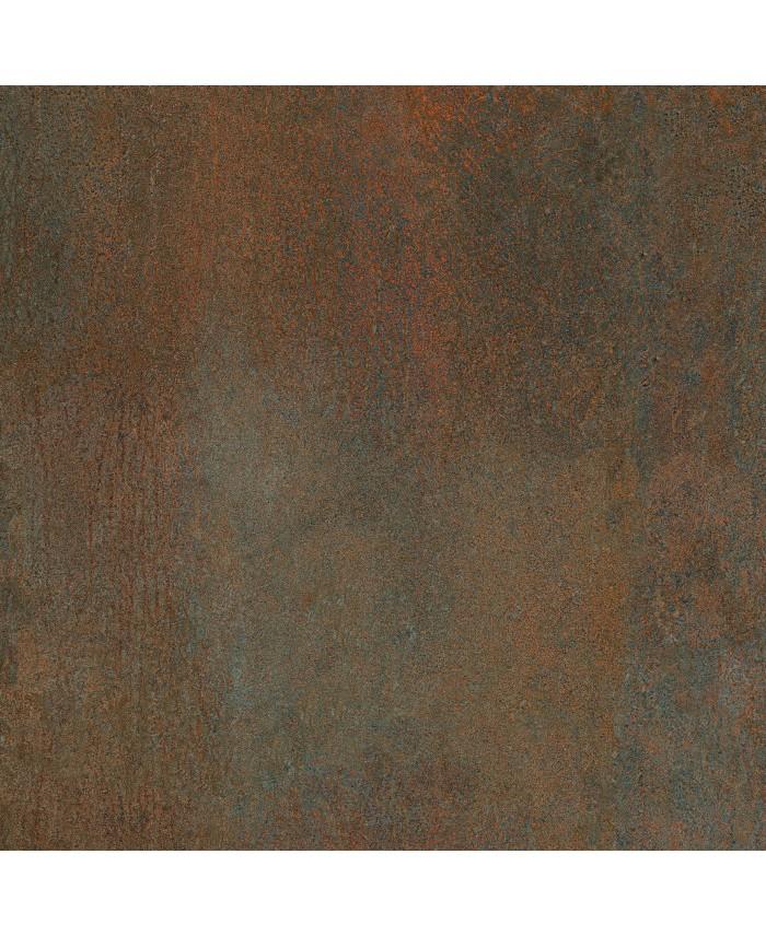 Carrelage Imitation Metal Rouille Cuivre Cuisine 90x90cm Rectifie Santoxydart Copper
