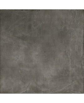Carrelage imitation béton ou résine mat, très grand format 120x120cm rectifié, santaset dark