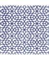 Carrelage peint à la main décor japonais 10x10x1cm D hiro bleu