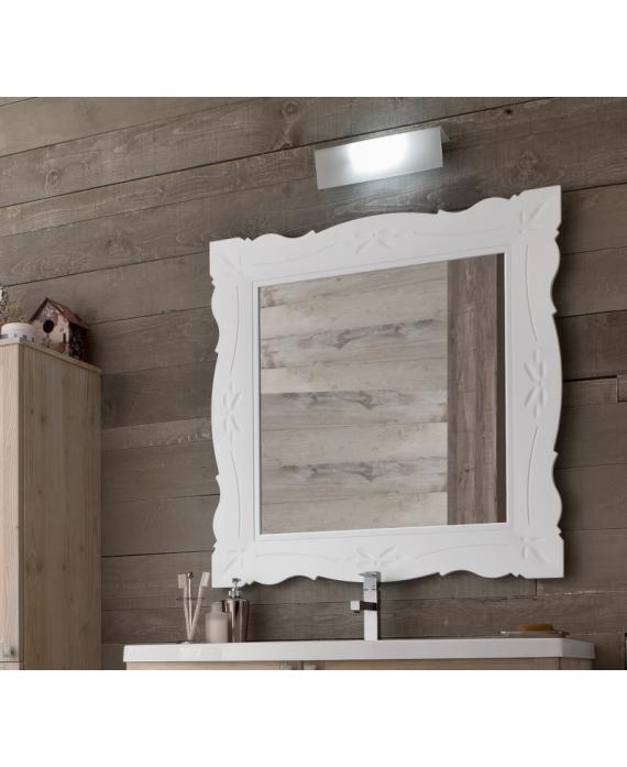 miroir salle de bain retro art ancien