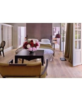 Parquet chêne contrecollé vieilli crème huilé plancher ancien top 3.2mm largeur 140, 170,190mm PA8 CDE