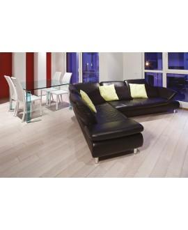 Parquet blanc brossé verni mat chêne contrecollé top 3.2mm plancher blanchi cerusé largeur 140, 170,190mm COL250B CDE